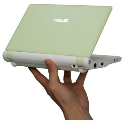 A closer look at the EeePC surf sub-compact laptop series from Asus.  This model is the Lush Green 2G Surf Model, and it is an awesome little computer!